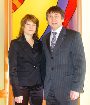 Елена и Владимир Козыч, Москва-Владивосток