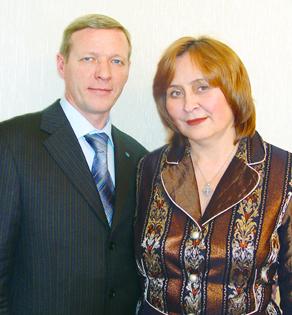 Виктор и Валентина Полетаевы, Кемерово